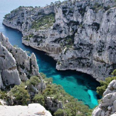 Walking in creeks of Cassis