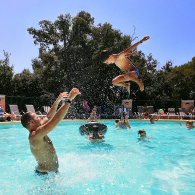 Camping with Water Park French Riviera - France