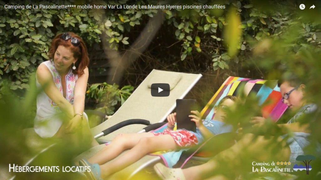 Camping de La Pascalinette**** mobile home Var La Londe Les Maures Hyères piscines chauffées