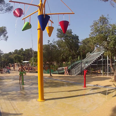 Campsite Water Park and heated pool
