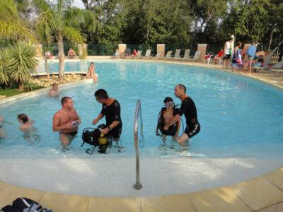 La Londe-les-Maures Heated pool Animation Baptism Diving