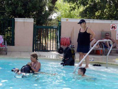 Heated pool Diving baptism Holidays