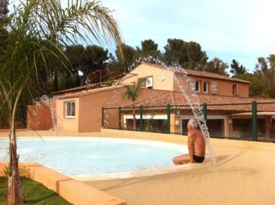 Heated pool Water park Spa