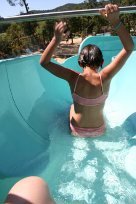 Hyères Swimming pool Children Water slide Holidays