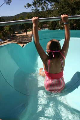 Camping Heated pool Water slide Children Family Holidays