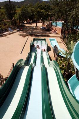Aquatic area Heated swimming pool Waterslide Water games