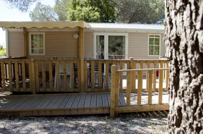 Campsite Rental Mobile home PRM Accessible