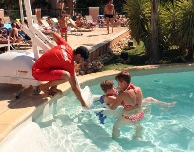 French Riviera Water Park Accessible Reduced Mobility