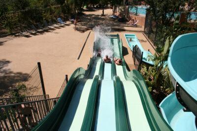 Camping Hyères beach Water park Slides Water games