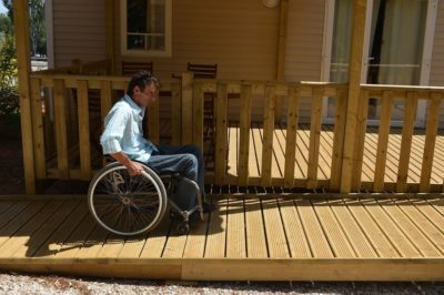 Mobile home Rental Accessible Handicap PRM