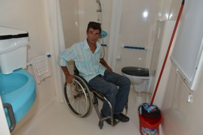 Campsite Lavandou Accessible Mobile home Disabilities