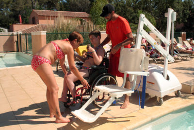 Campsite Seaside PRM Water park Reduced mobility