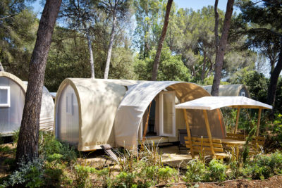 French Riviera Ready set up and equipped tents  ecological and natural holidays