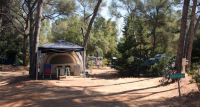 Camping Beaches Hyères large pitch