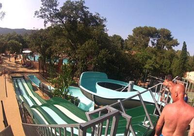Camping Var Water slide Water games Heated pool
