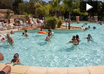 Camping Lavandou Heated swimming pools Family holidays