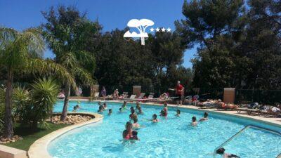 La-Londe-les-Maures Heated pool Animation Aquagym Holidays