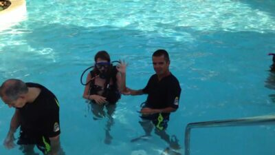 Diving baptism Heated swimming pool Water park