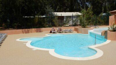 Campsite Hyères Heated pool Zen Relaxation Spa Solarium Sunbathing beach