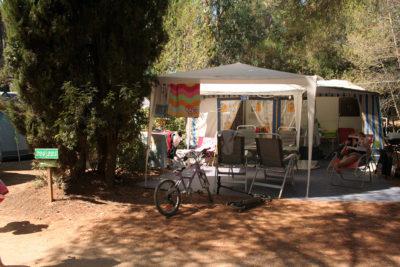 Rental tent caravan pitch Holiday Porquerolles