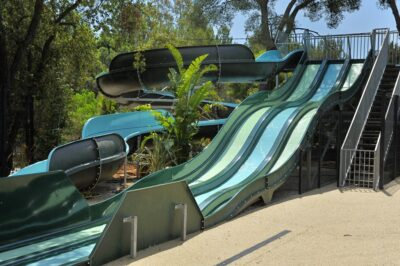 French Riviera Aquatic area Water games Waterslide Holidays Family Friends