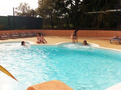 Vacation Heated pool Solarium Spa Jacuzzi