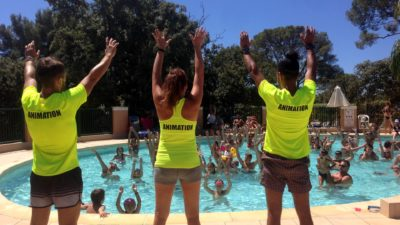 Camping French Riviera-Côte d'Azur with Water Park activities