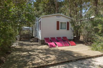 Campsite - mobile home seaside France