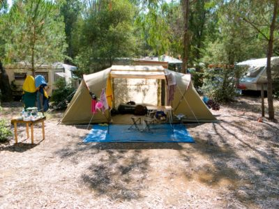 Tent pitch attractive price - family campsite - French Riviera
