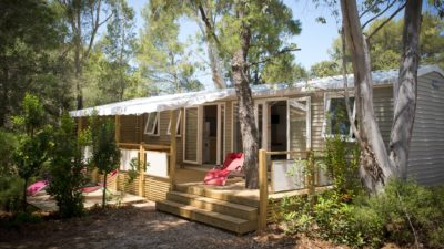 Mobile home 6 guests - 4-star campsite - French Riviera