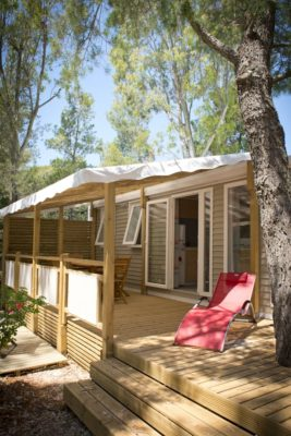 Air-conditioned mobile home - Holiday on the French Riviera - for 6 people