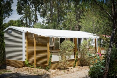 All comfort Premium mobile home - air-conditioned on the French Riviera