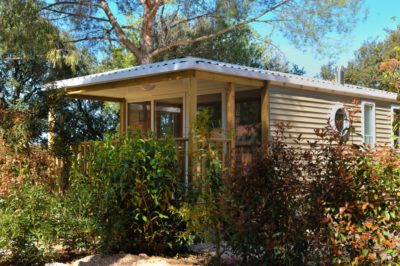 Rental Premium Mobile home Equipped Air-conditioned