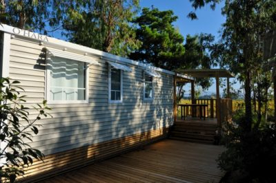 Air conditioned mobile home Family France