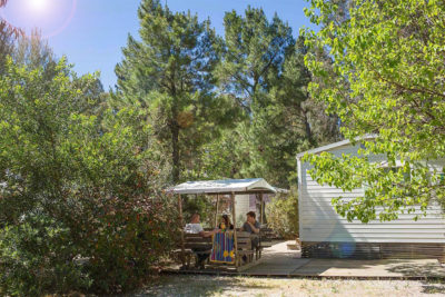Mobile home Standing Nature Provence