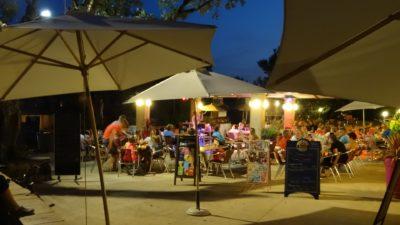Camping's restaurant near Hyeres