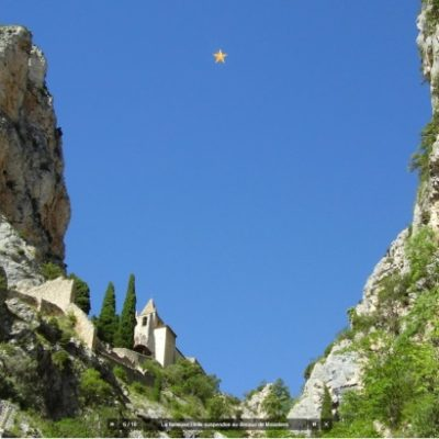 Discover Moustiers Ste-Marie during your camping break