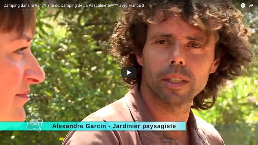Camping dans le Var : Visite du Camping de La Pascalinette® **** avec France 3
