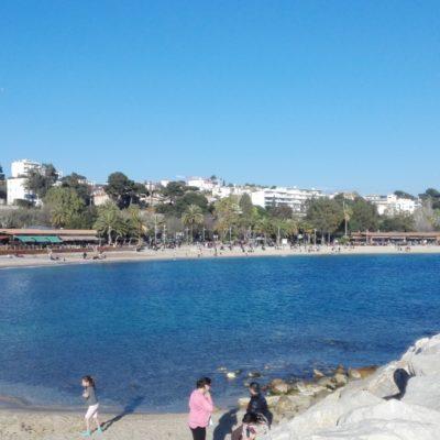 Mourillon beaches