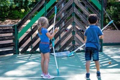 Family Campsite Activities Kids Holiday Friends