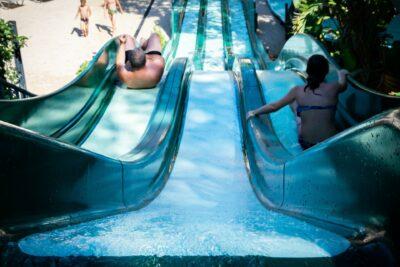 Lavandou Water slide Heated pool