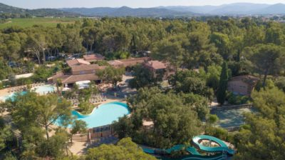 Nature holiday in Eco-camping France - water park