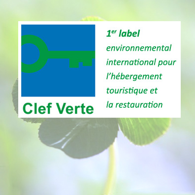 The campsite is a holder of the Clef Verte Label