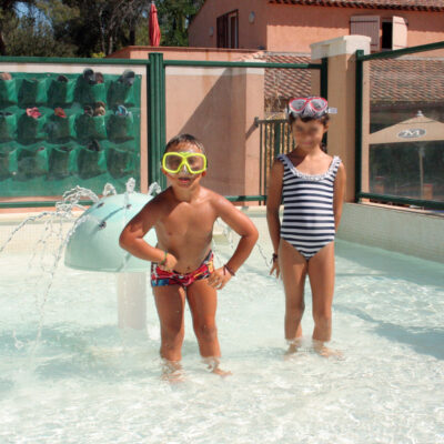 Campsite Hyères Heated swimming pool Heated paddling pool Children Holidays
