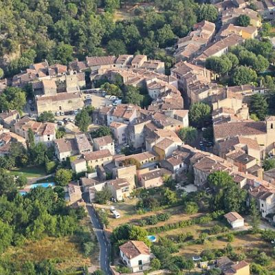 The village of Correns