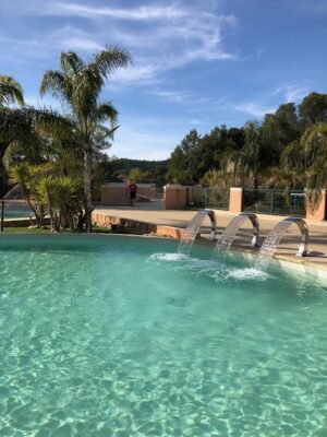 Bormes-les-Mimosas Aquatic complex Heated pool Massage shower