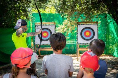 Seaside Camping - kids activities - Archery sport