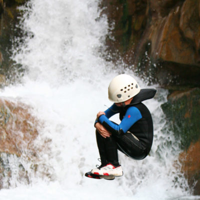 Canyoning in Haut Jabron