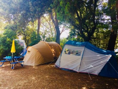 Campsite ecological holiday tent French Riviera