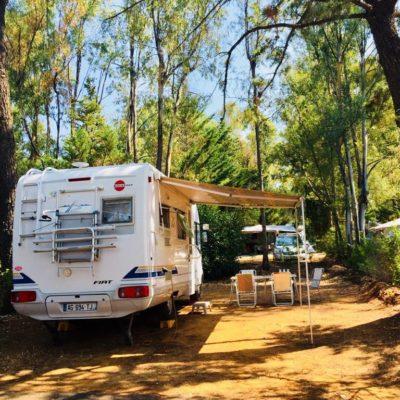Low-cost Basic Pitches  - Tents, Caravans & Camper Vans